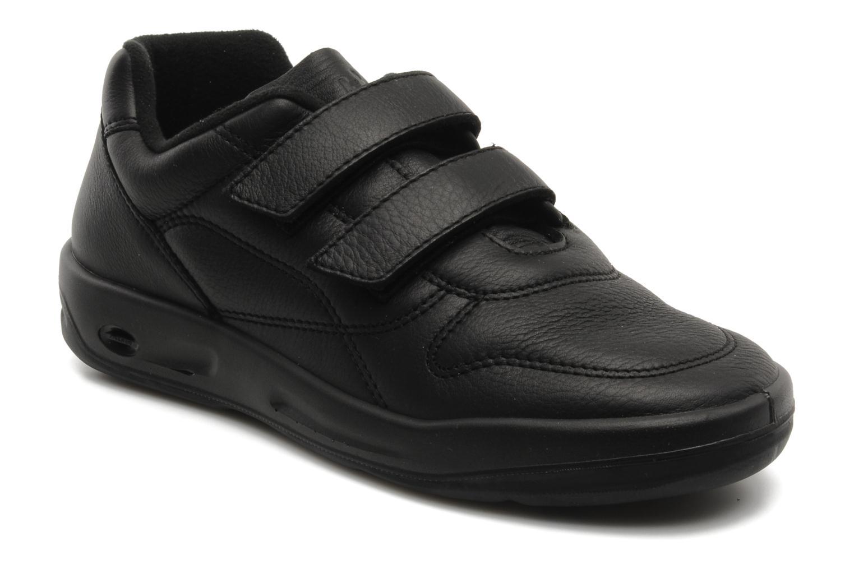 Sneakers TBS Easy Walk Archer Sort detaljeret billede af skoene
