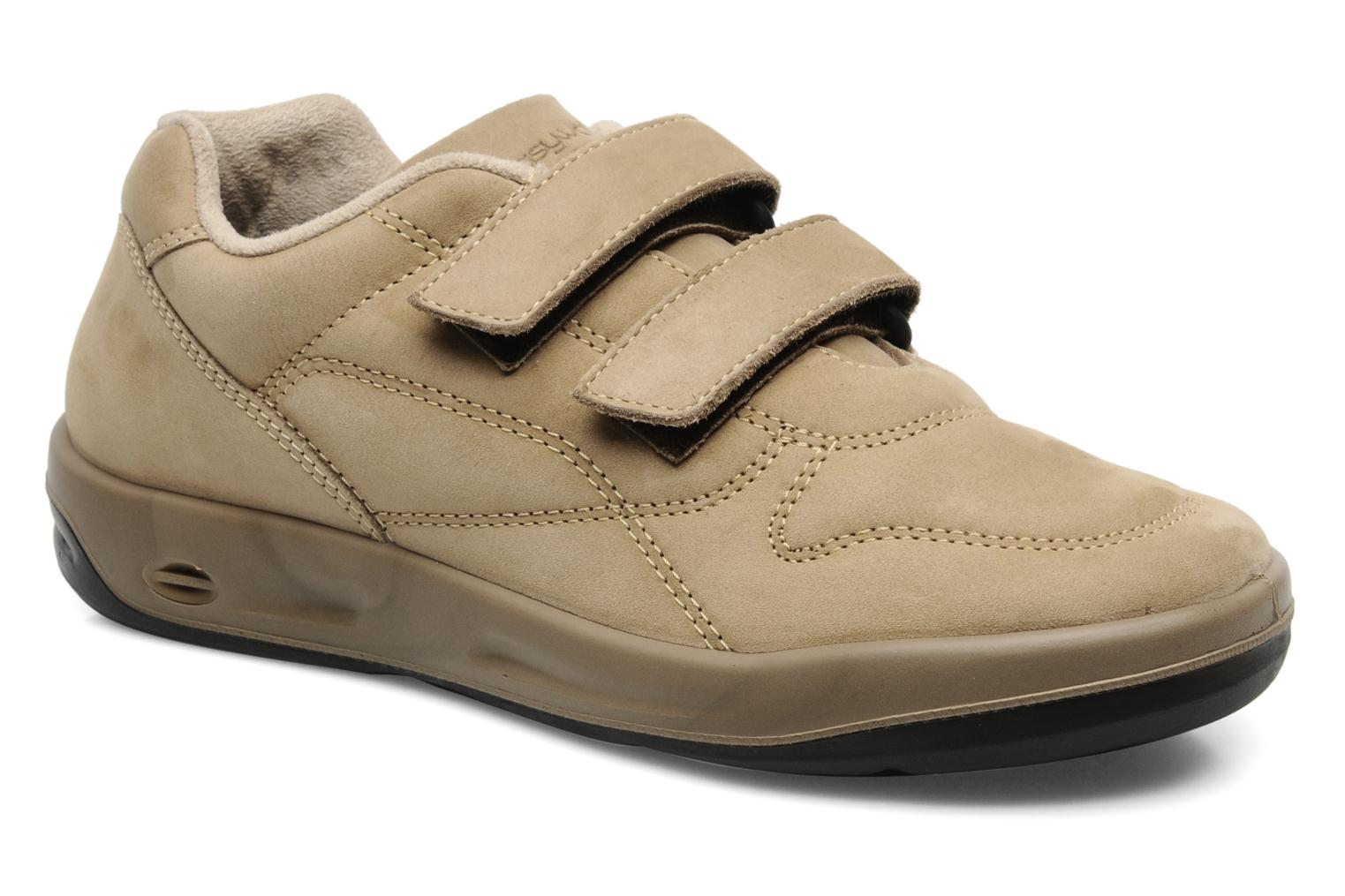 Sneakers TBS Easy Walk Archer Beige detaljerad bild på paret