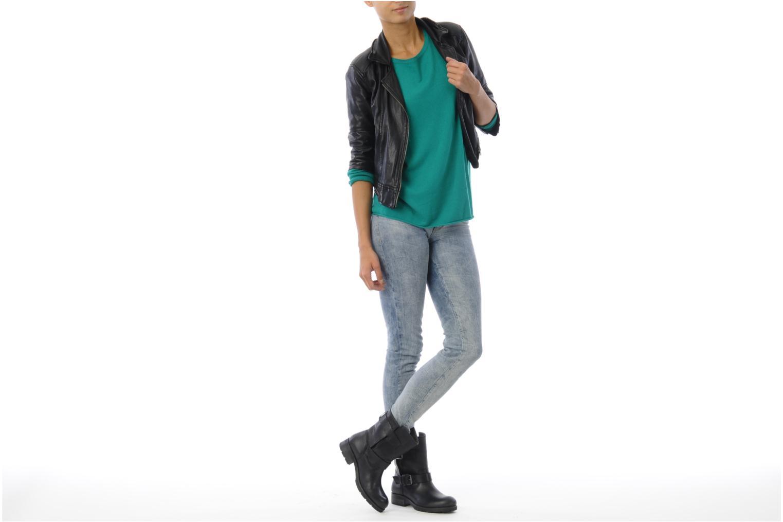 Stiefeletten & Boots Koah Nell schwarz ansicht von unten / tasche getragen