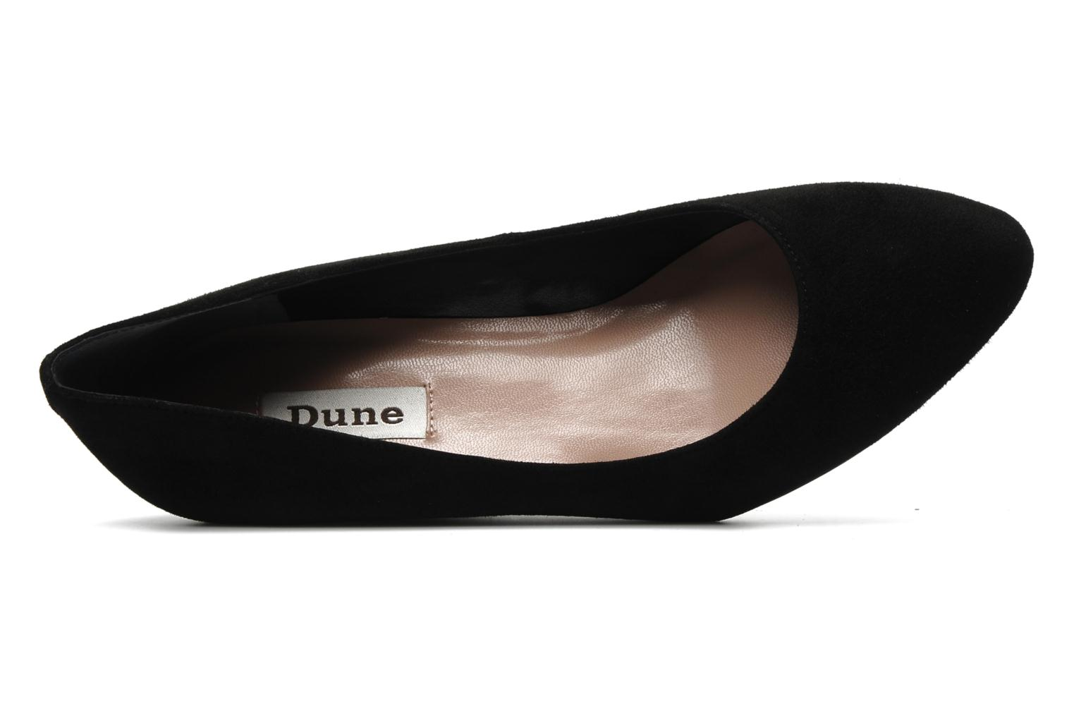 High heels Dune London AMBLESIDE Black view from the left