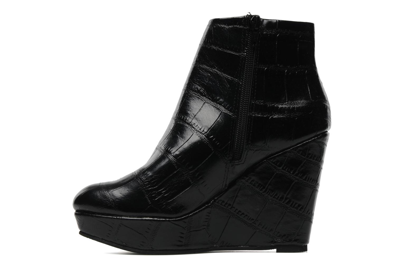 Boots en enkellaarsjes Bertie NYX Zwart voorkant