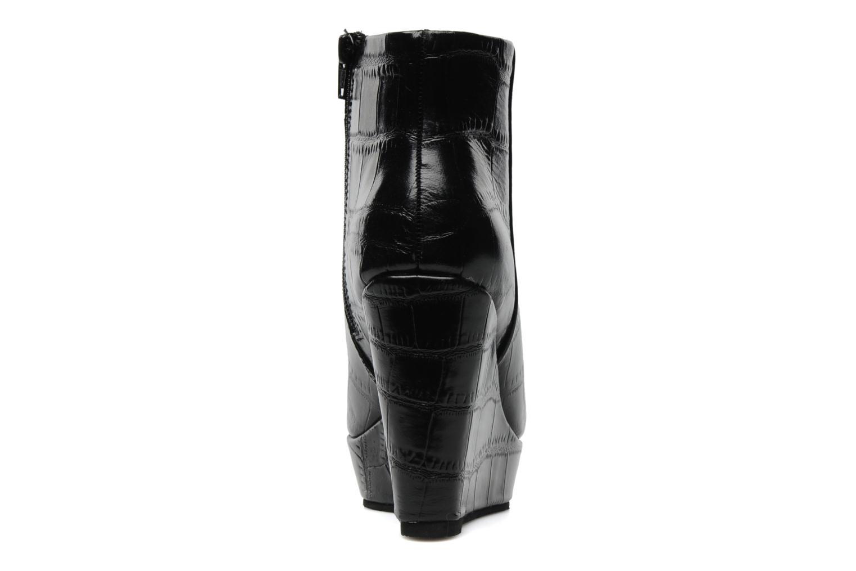 Boots en enkellaarsjes Bertie NYX Zwart rechts