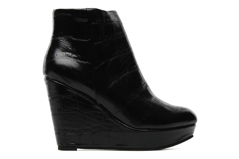 Boots en enkellaarsjes Bertie NYX Zwart achterkant