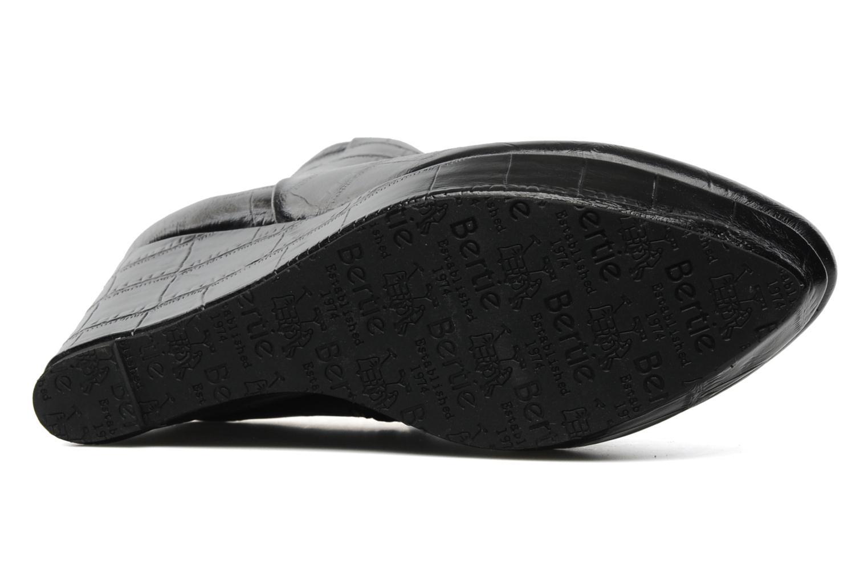 Boots en enkellaarsjes Bertie NYX Zwart boven