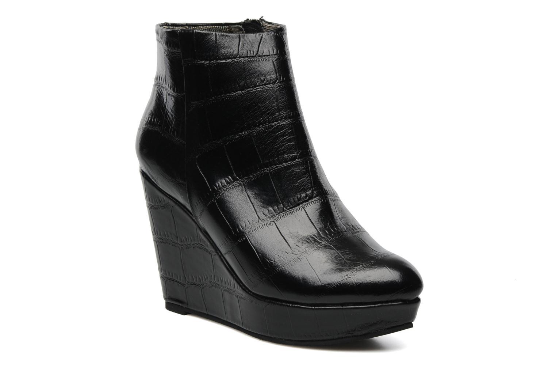Boots en enkellaarsjes Bertie NYX Zwart detail