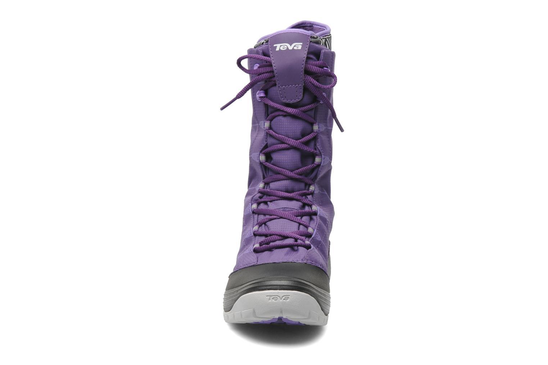Chaussures de sport Teva Jordanelle Violet vue portées chaussures