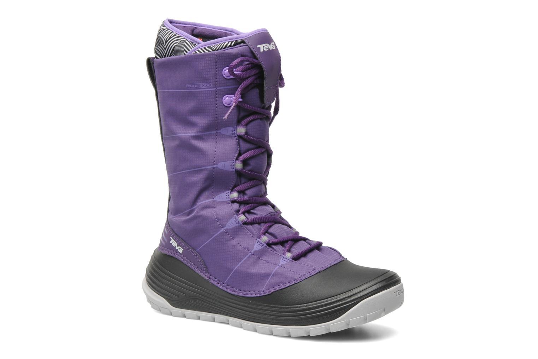 Chaussures de sport Teva Jordanelle Violet vue détail/paire