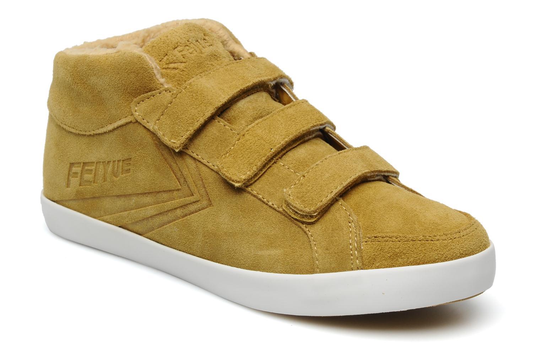 Sneaker Feiyue Feiyue Delta Mid Fur W gelb detaillierte ansicht/modell