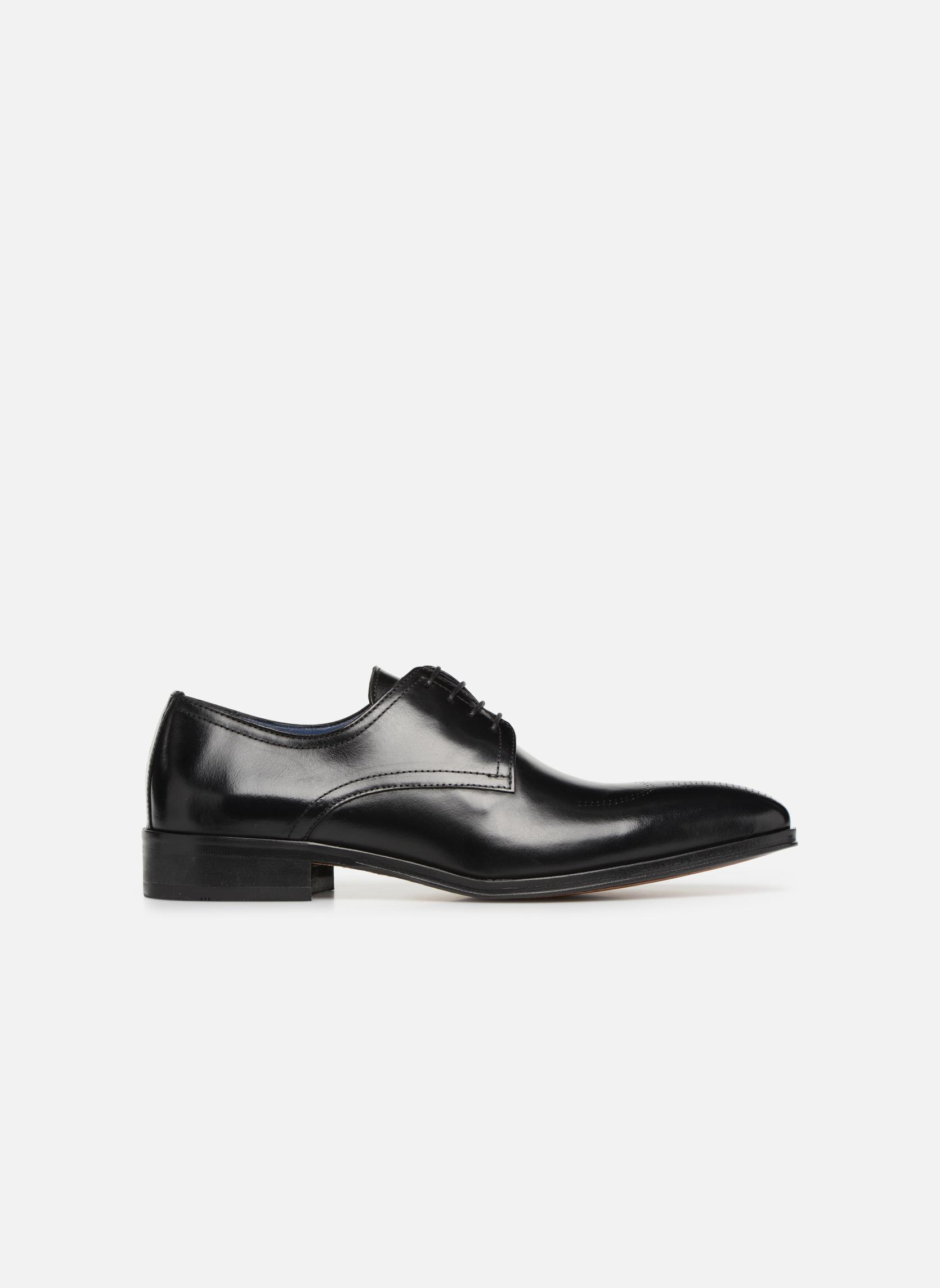 Zapatos con cordones Brett & Sons Mark Negro vistra trasera