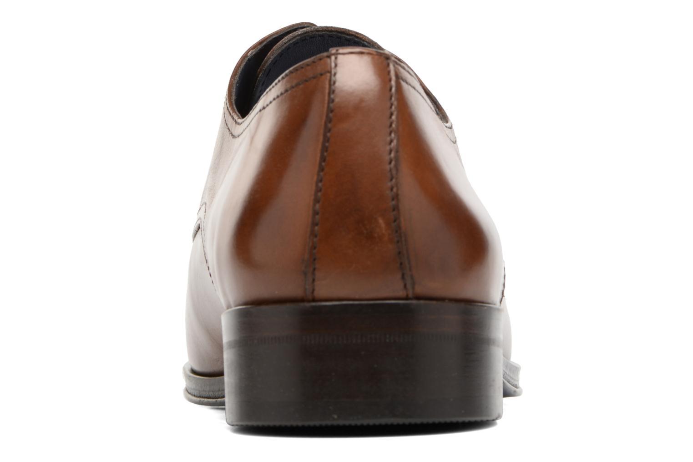 Zapatos con cordones Brett & Sons Mark Marrón vista lateral derecha