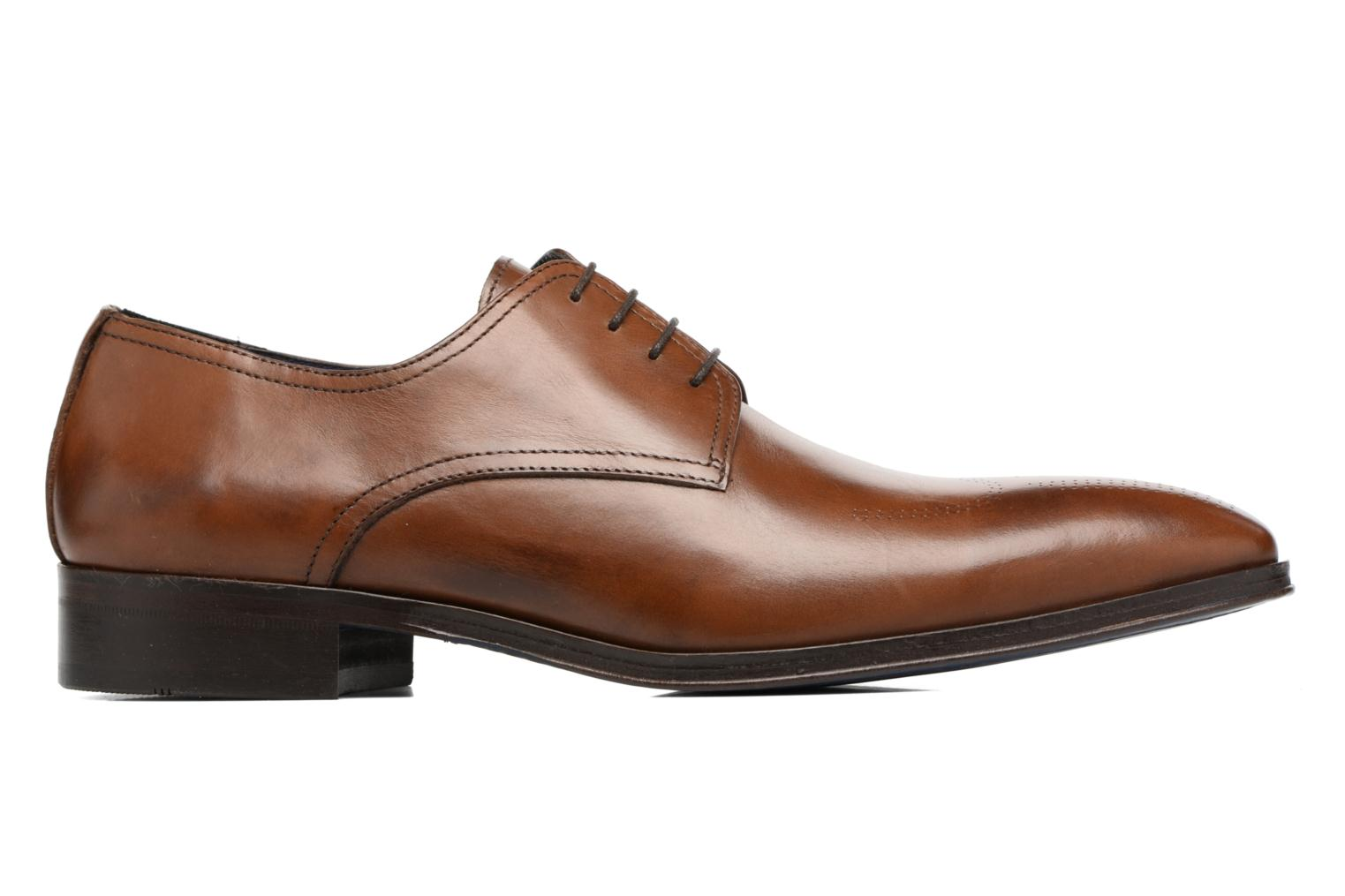 Lace-up shoes Brett & Sons Mark Brown back view