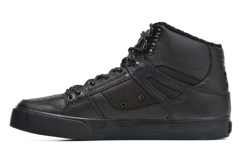 Sportschuhe DC Shoes Spartan Hi WC SE schwarz ansicht von vorne