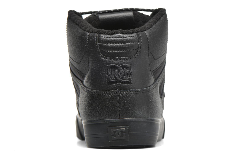 Sportschuhe DC Shoes Spartan Hi WC SE schwarz ansicht von rechts