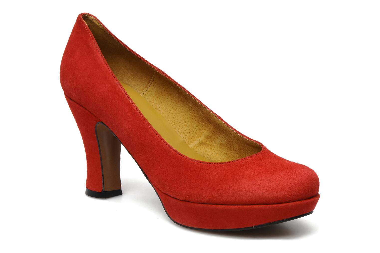 Pumps Georgia Rose Valio Rood detail