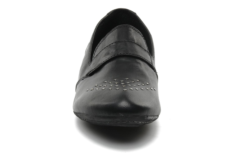 Mocassins Khrio Valtena Noir vue portées chaussures