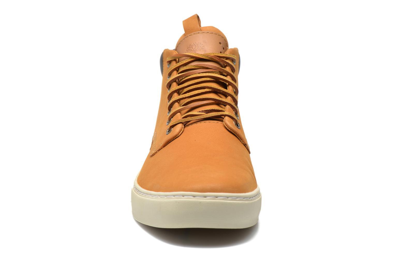 Sneaker Timberland Earthkeepers 2.0 Cupsole Chukka gelb schuhe getragen