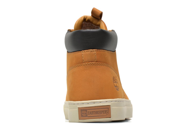 Sneaker Timberland Earthkeepers 2.0 Cupsole Chukka gelb ansicht von rechts