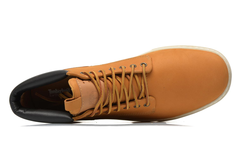 Sneaker Timberland Earthkeepers 2.0 Cupsole Chukka gelb ansicht von links