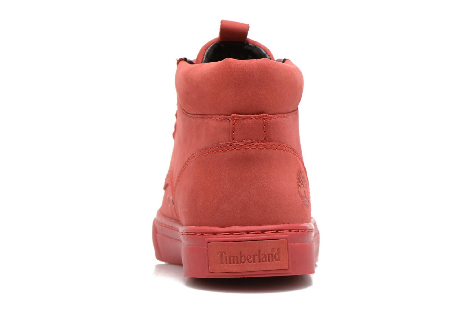 Sneakers Timberland Earthkeepers 2.0 Cupsole Chukka Rood rechts
