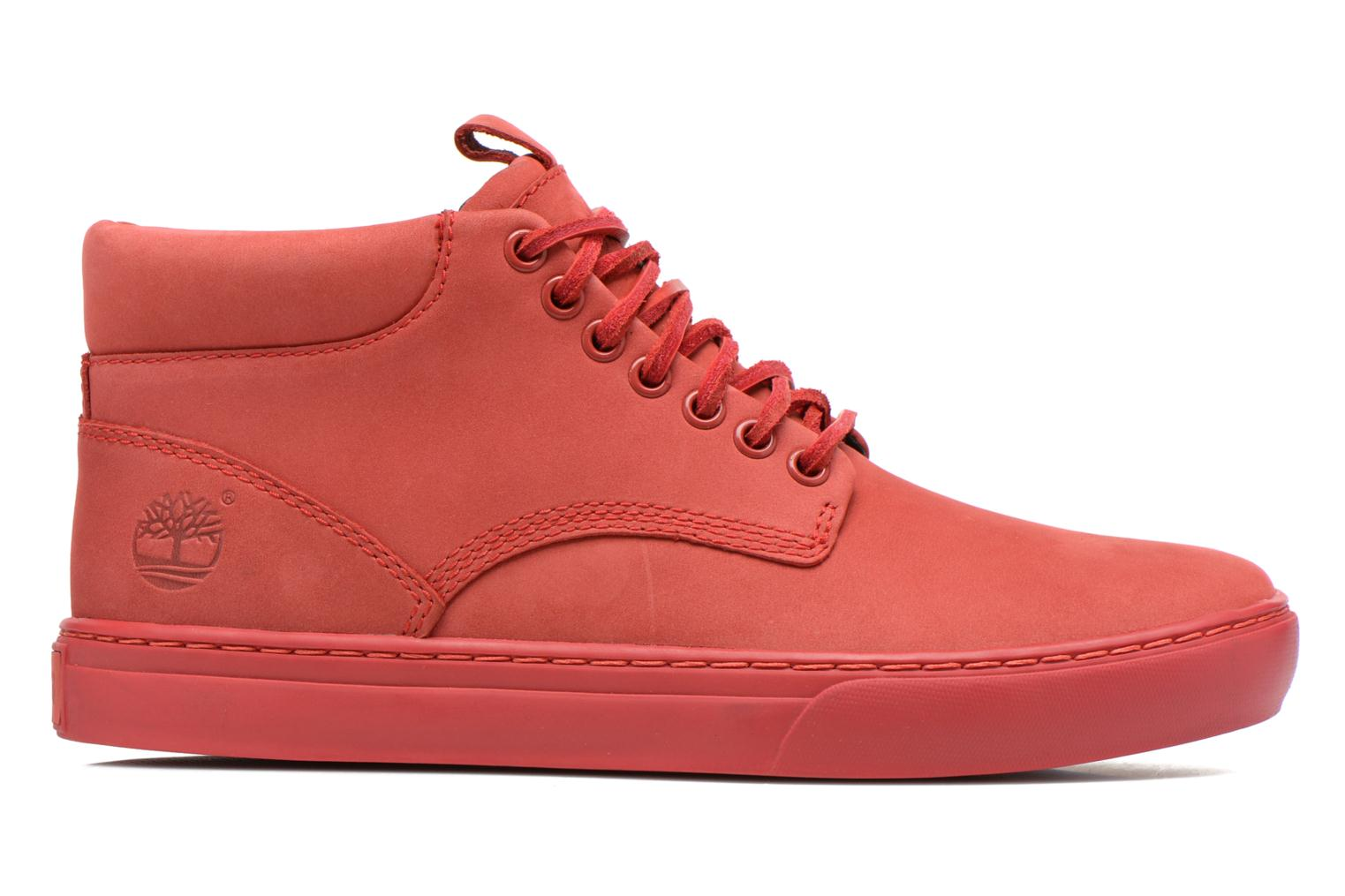 Sneakers Timberland Earthkeepers 2.0 Cupsole Chukka Rood achterkant