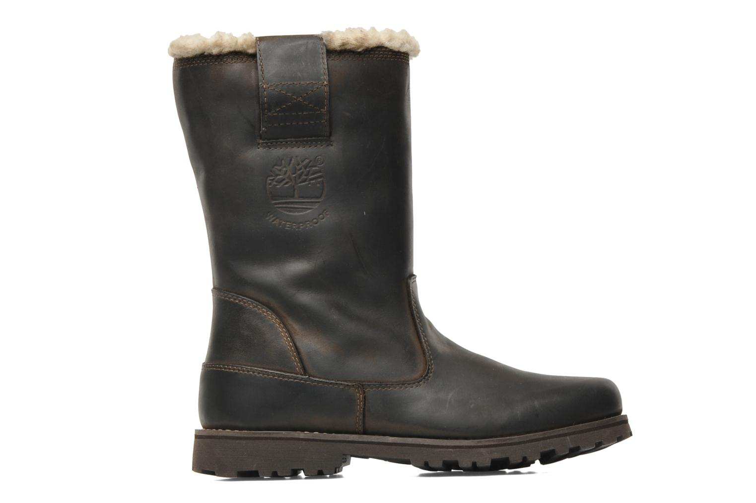 Laarzen Timberland 8 In Pull On WP Boot with Shearling Bruin achterkant