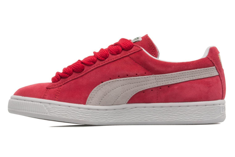 Sneaker Puma Suede classic eco W rot ansicht von vorne