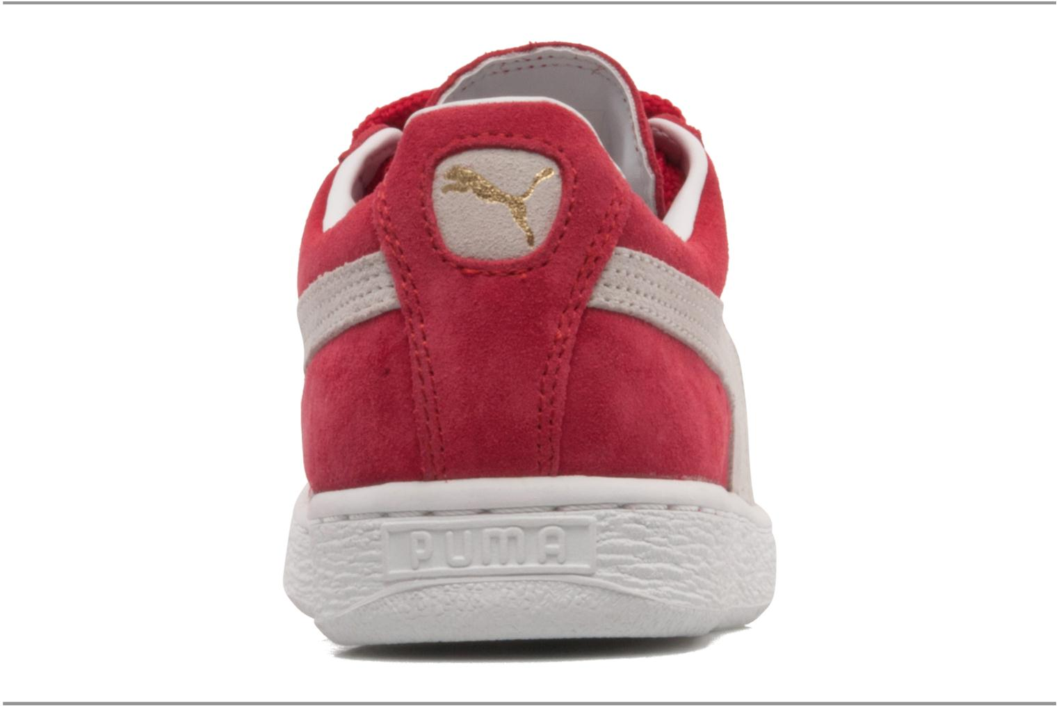 Trainers Puma Suede classic eco W Red view from the right