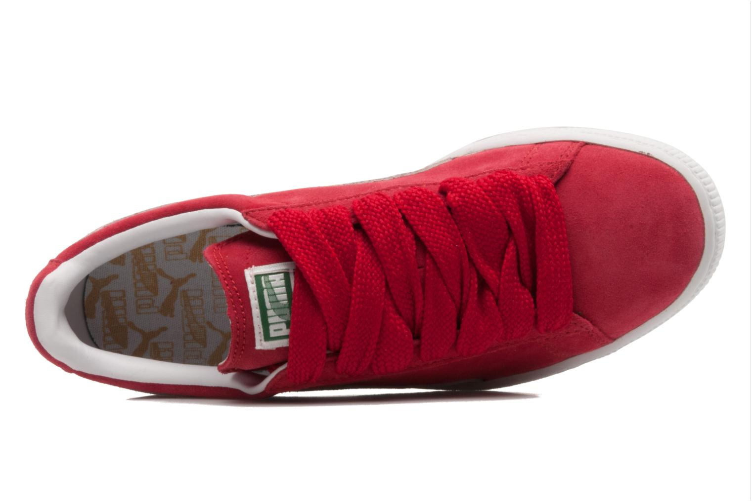 Trainers Puma Suede classic eco W Red view from the left