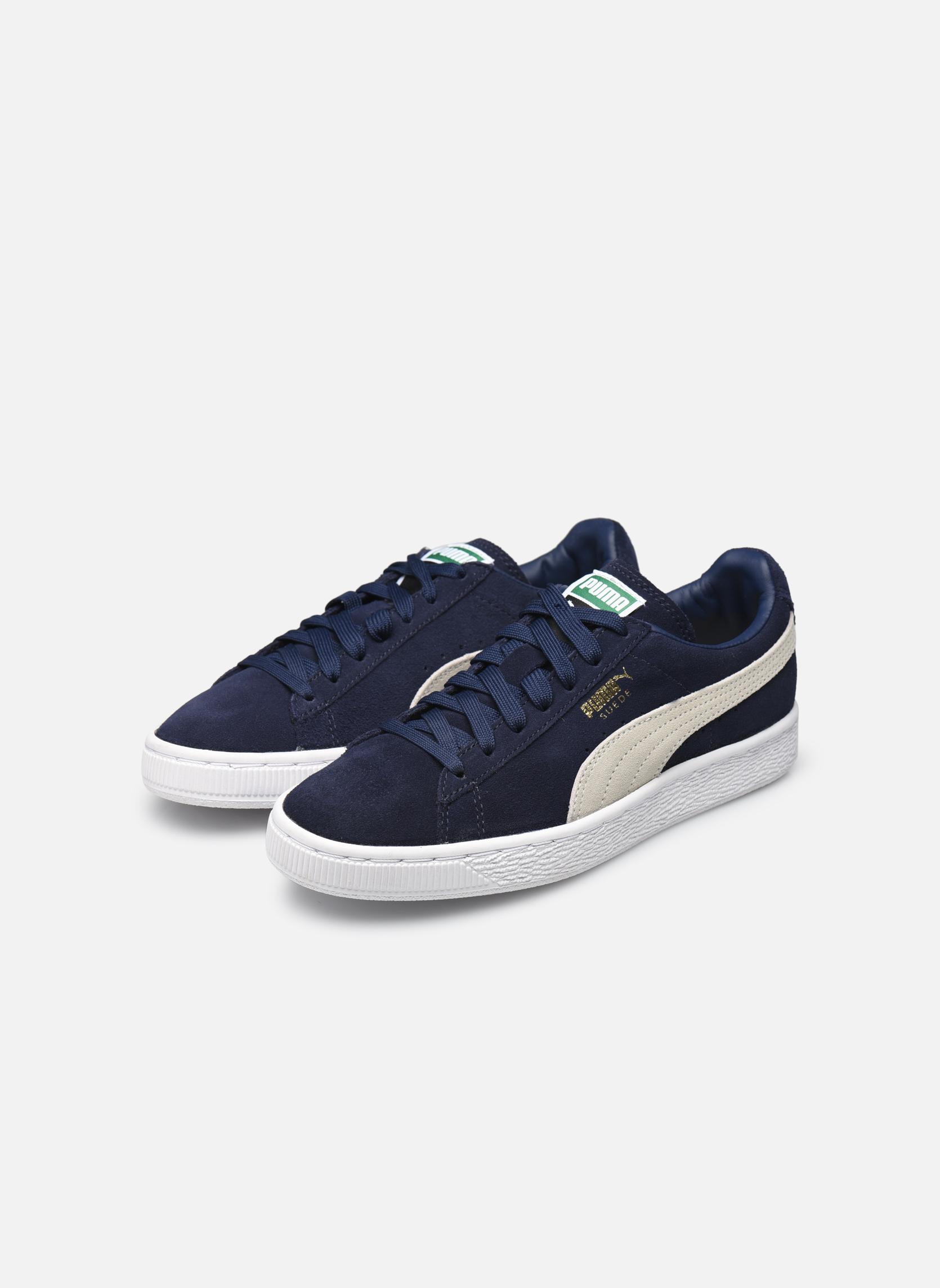 Sneakers Puma Suede classic eco W Azzurro immagine dal basso