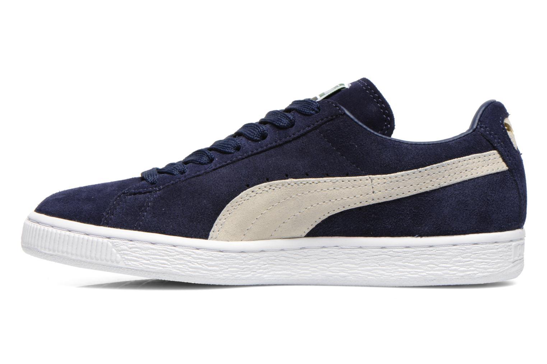 Sneakers Puma Suede classic eco W Azzurro immagine frontale