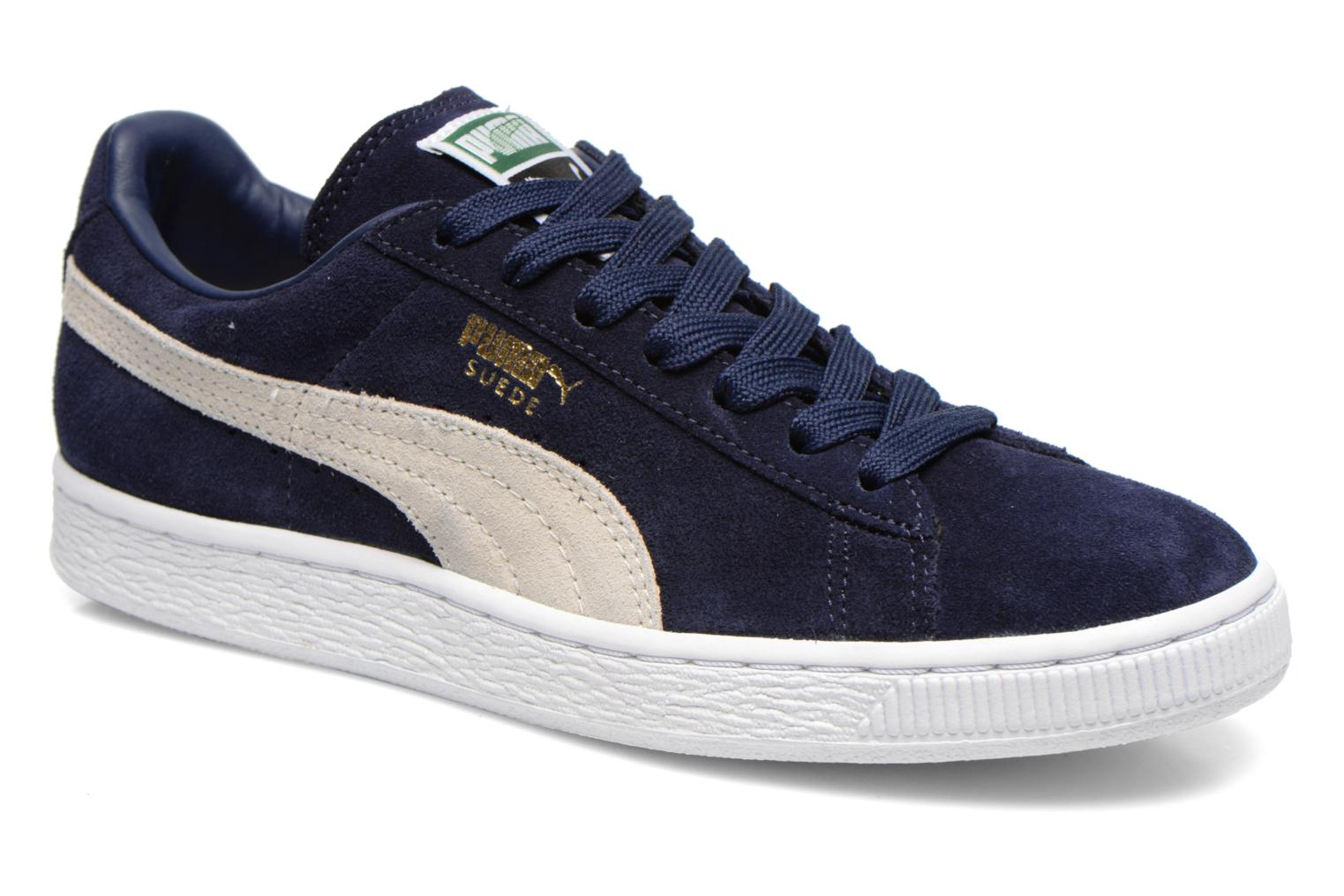 Trainers Puma Suede classic eco W Blue detailed view/ Pair view