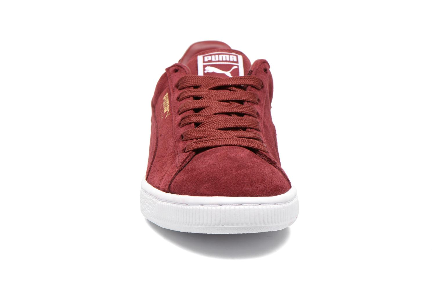 Sneakers Puma Suede classic eco W Bordeaux model