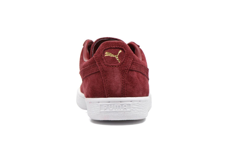 Baskets Puma Suede classic eco W Bordeaux vue droite