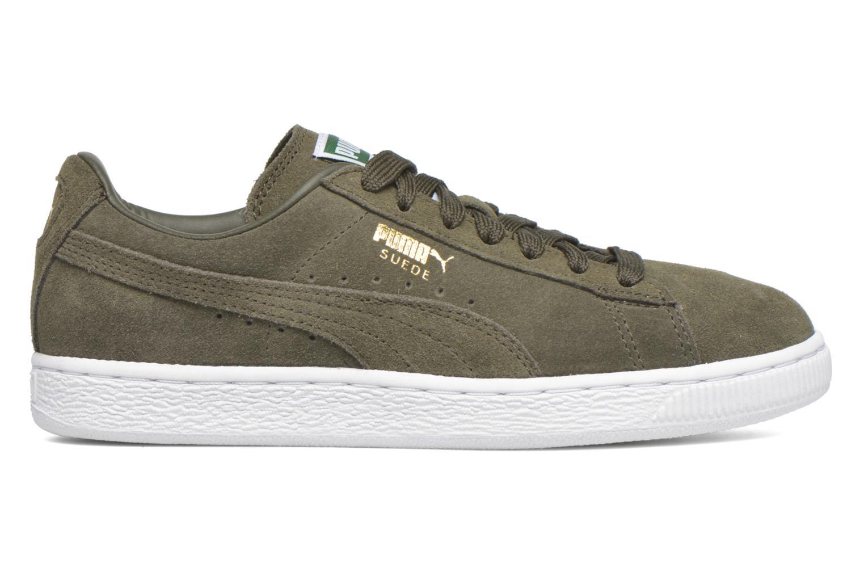 Sneaker Puma Suede classic eco W grün ansicht von hinten