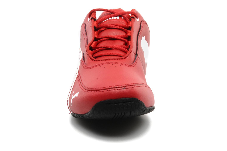 Sneaker Puma Drift Cat 4 L SF NM Jr rot schuhe getragen