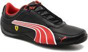 black-rosso corsa-white