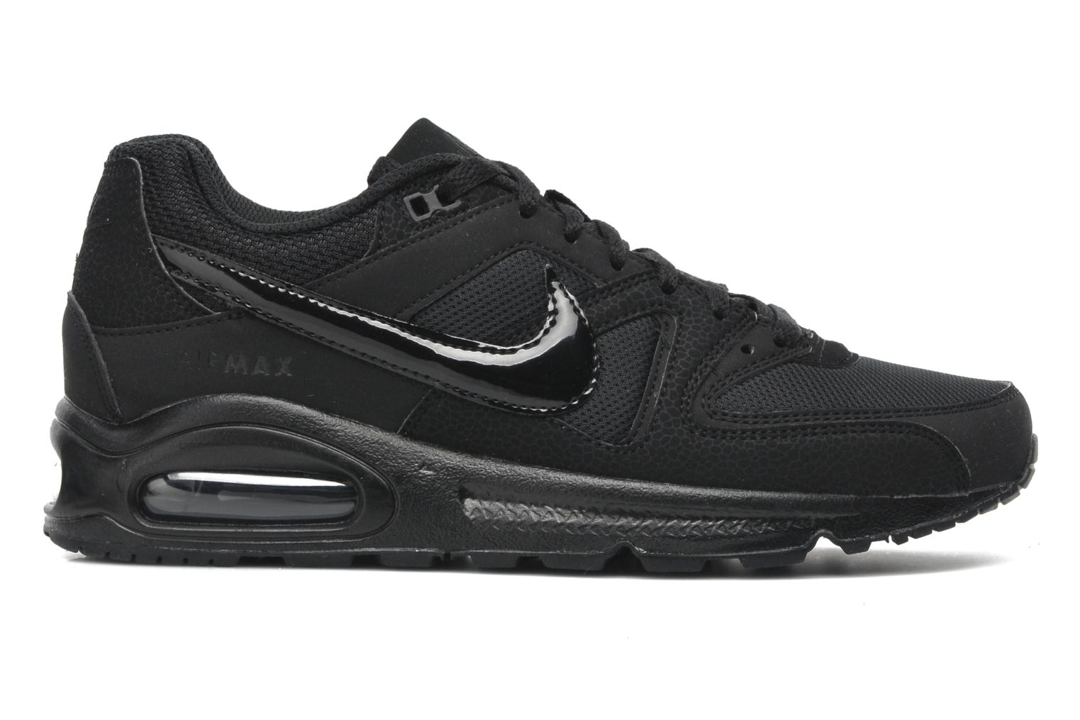 Trainers Nike Air Max command Black back view