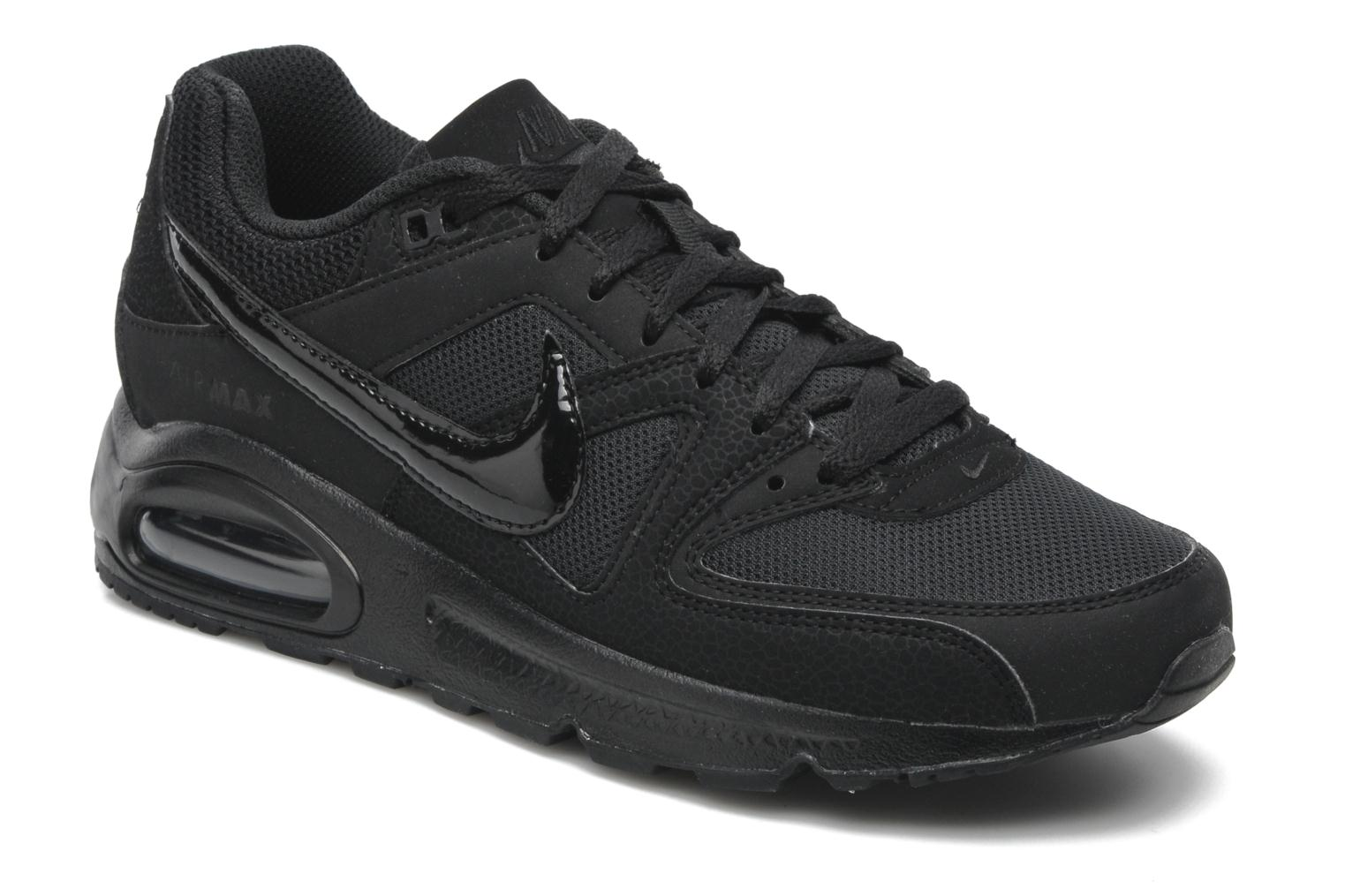 Trainers Nike Air Max command Black detailed view/ Pair view