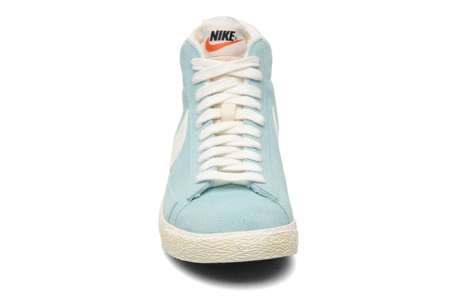 Trainers Nike Wmns Blazer Mid Suede Vintage Blue model view