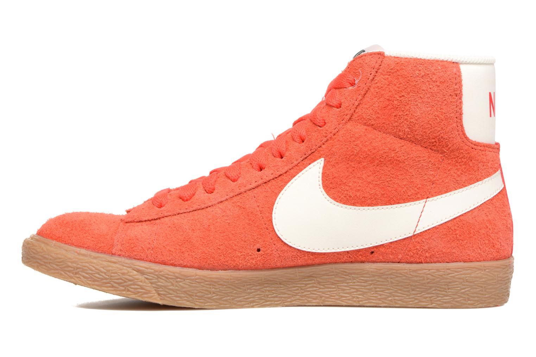 Sneaker Nike Wmns Blazer Mid Suede Vintage orange ansicht von vorne