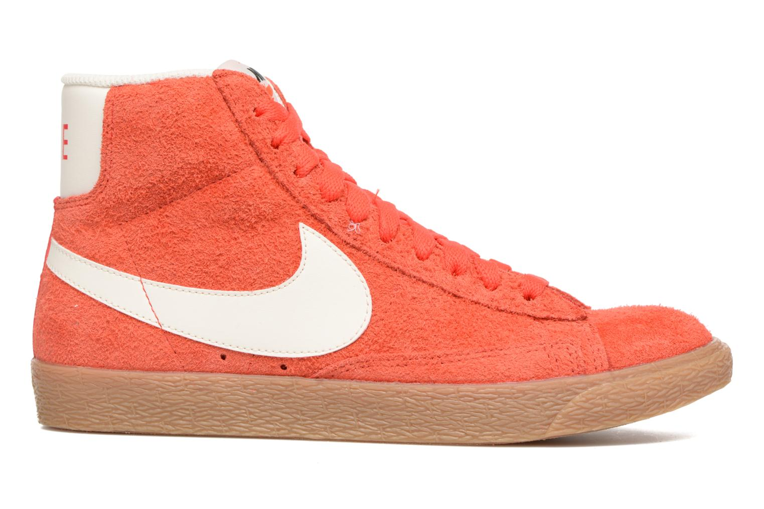 Trainers Nike Wmns Blazer Mid Suede Vintage Orange back view