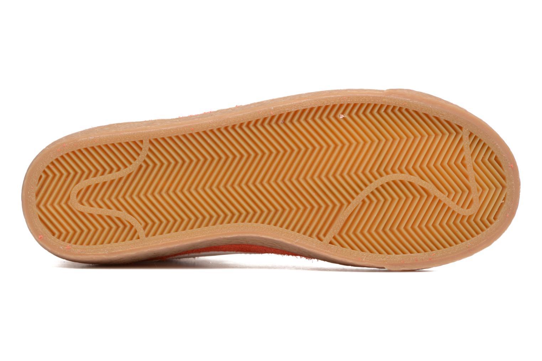 Sneaker Nike Wmns Blazer Mid Suede Vintage orange ansicht von oben