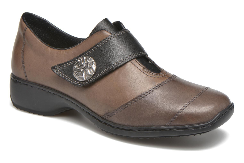 Grandes descuentos últimos zapatos Rieker Dips L3871 (Gris) - Mocasines Descuento