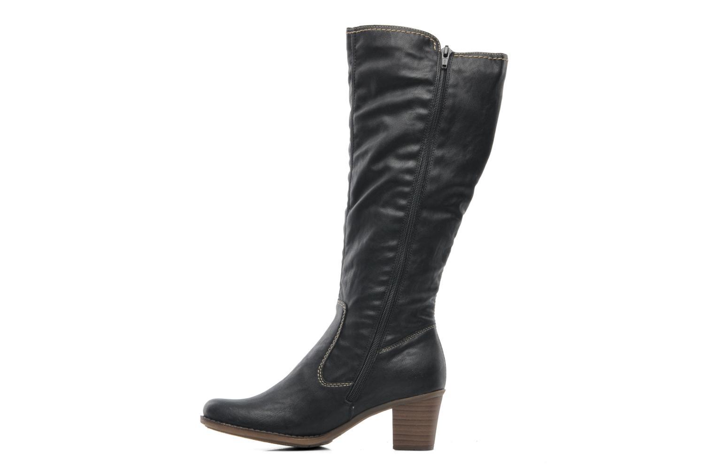 Boots & wellies Rieker Ziggi Z7672 Black front view