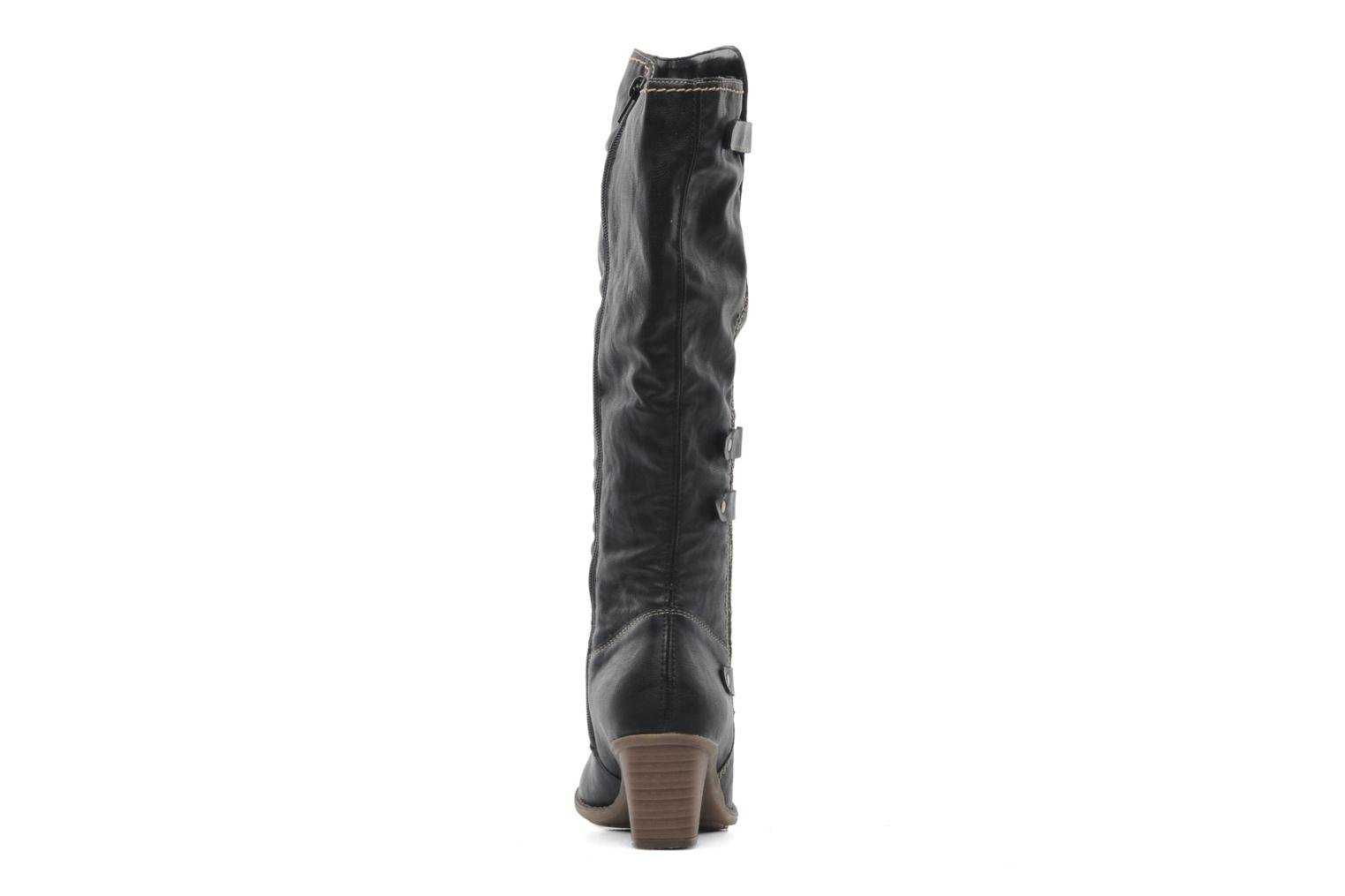 Boots & wellies Rieker Ziggi Z7672 Black view from the right