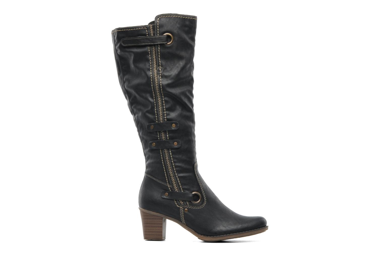 Boots & wellies Rieker Ziggi Z7672 Black back view