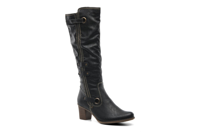 Støvler & gummistøvler Rieker Ziggi Z7672 Sort detaljeret billede af skoene