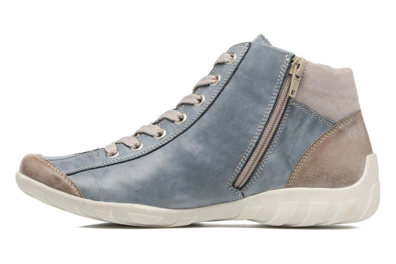 Sneakers Remonte Liv R3474 Blå se forfra