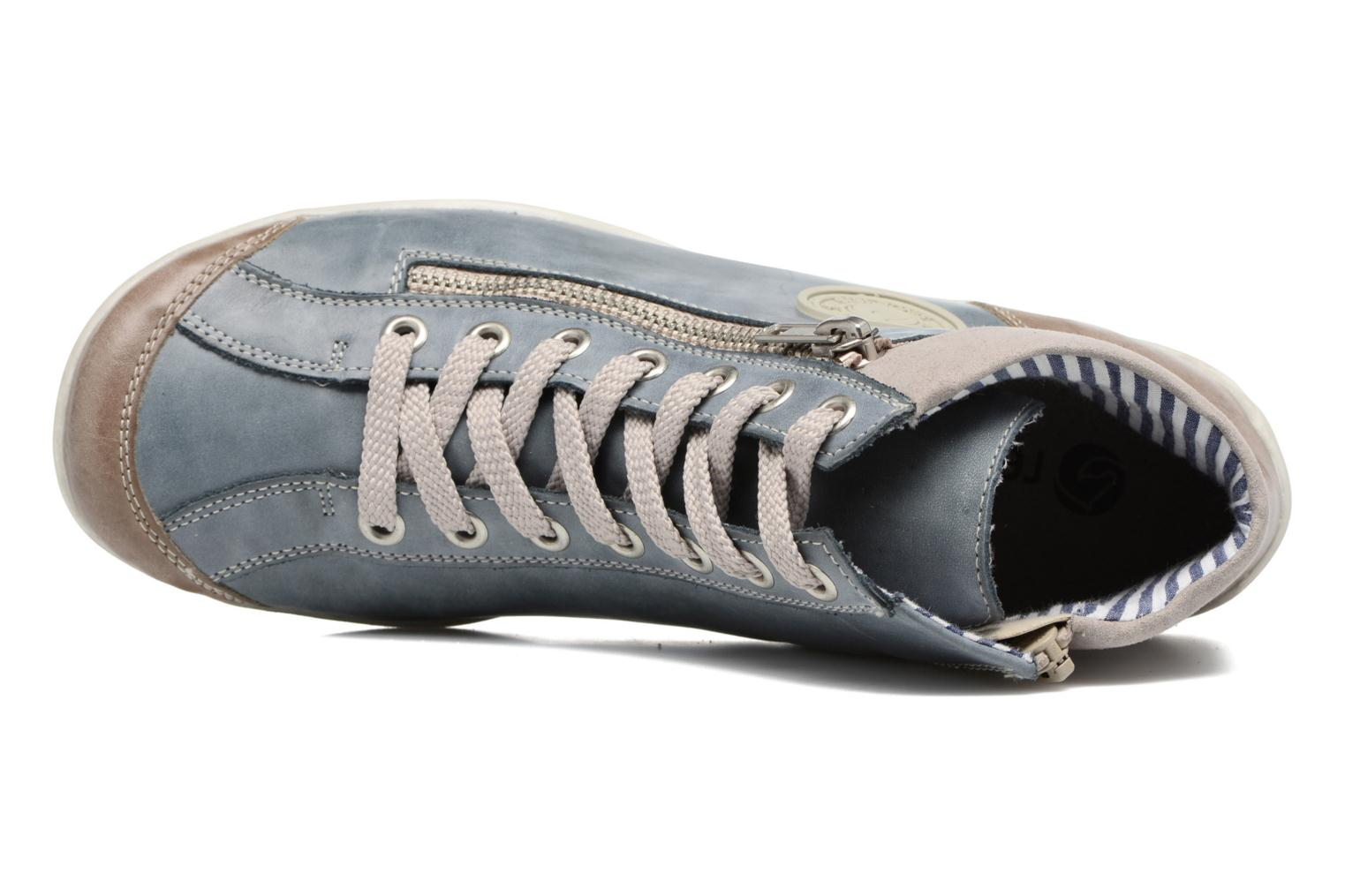 Sneakers Remonte Liv R3474 Blauw links