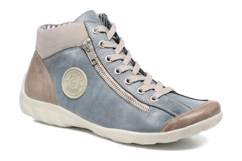 Sneakers Remonte Liv R3474 Blå detaljeret billede af skoene